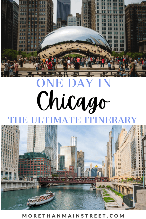 Top 5 best things to do if you only have one day in Chicago featured by top US family travel blog, More than Main Street.