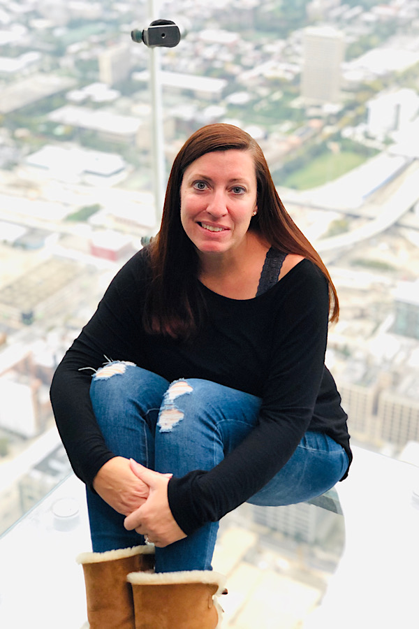 The Skydeck Ledge at Willis Tower is a must see in Chicago!