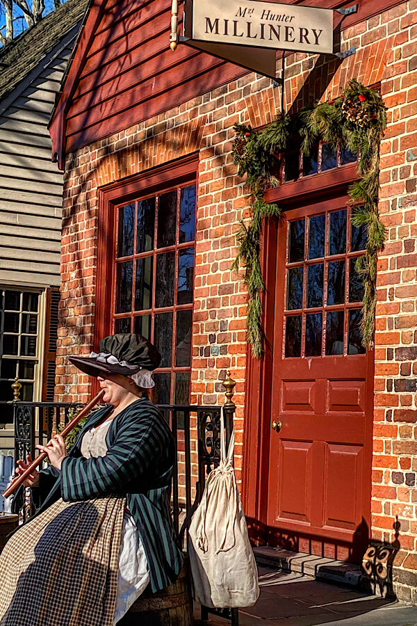 Visiting Williamsburg on a winter family vacation in the USA makes history come alive featured by top US family travel blog, More than Main Street.