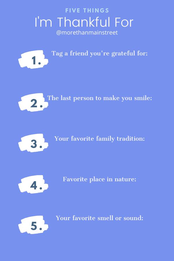 21 Days of Gratitude templates for instagram.