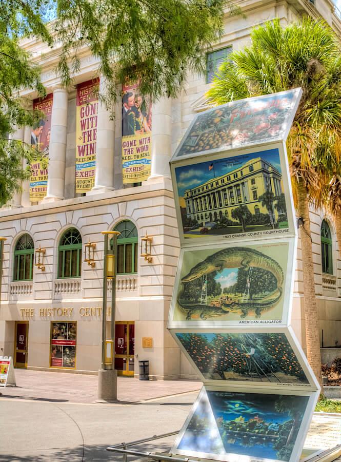 The Orange County Regional History Center in Orlando Florida.