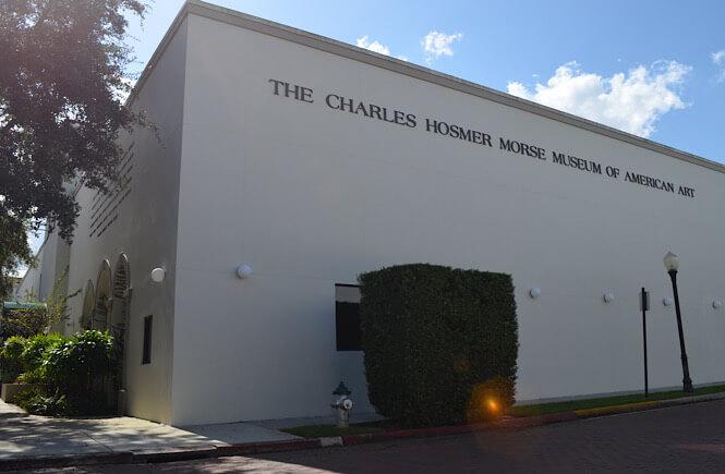 The Charles Hosmer Morse Museum in Orlando Florida.