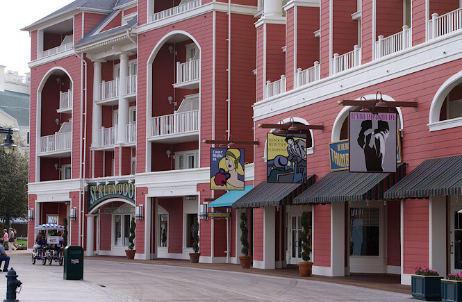Disney's Boardwalk is one of the best free things to do in Orlando Florida.
