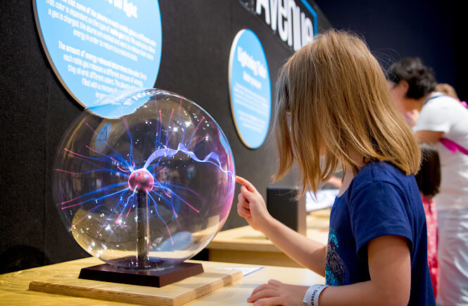 Museums for kids in Florida- the Orlando science center.