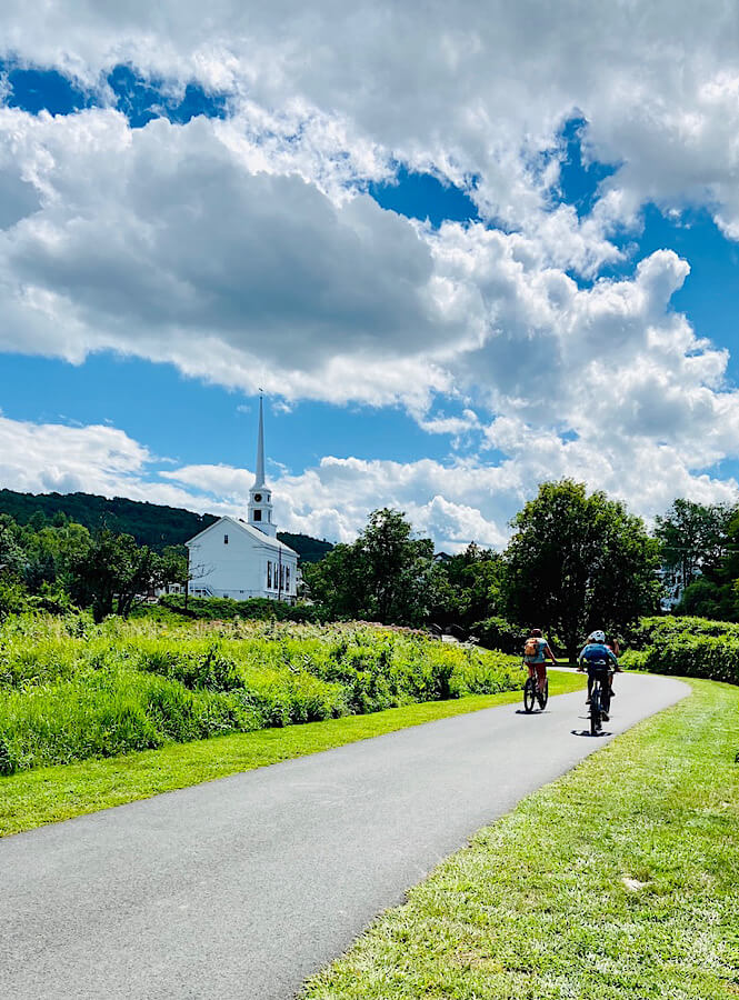 A biking adventure while road tripping through picturesque Vermont.
