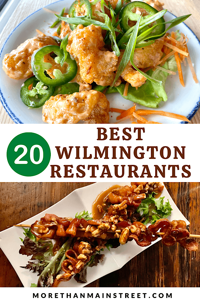 20 best places to eat in Wilmington North Carolina.