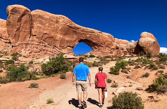 Hiking is an easy and fun activity for a bucket list for families!