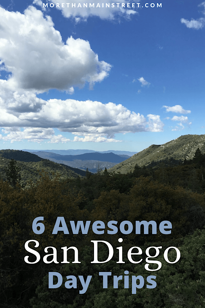 6 Awesome San Diego day trips featured by top US family travel blog More than Main Street.