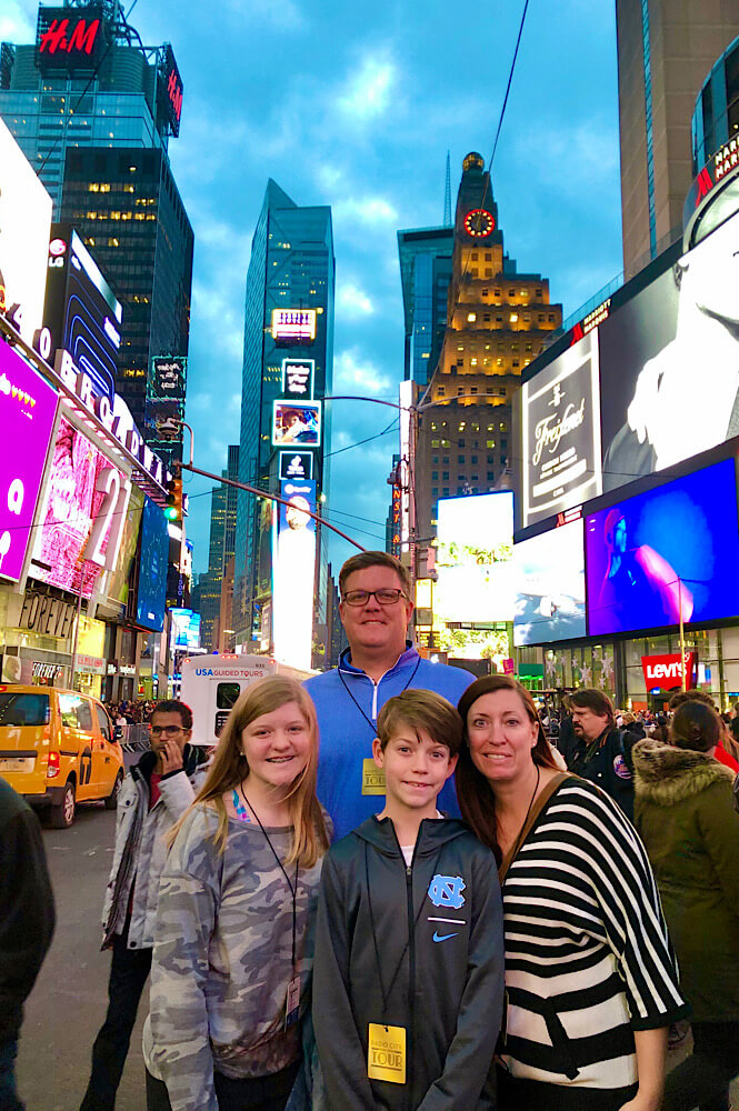 Every family bucket list should include a trip to New York City!