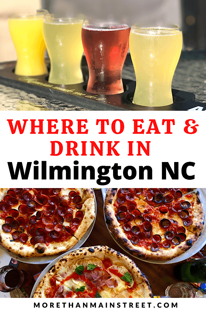 The best restaurants in Wilmington NC featured by top US family travel blog, More than Main Street.