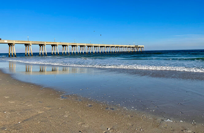 Wrightsville Beach is one of the most fun and free things to do in Wilmington NC.