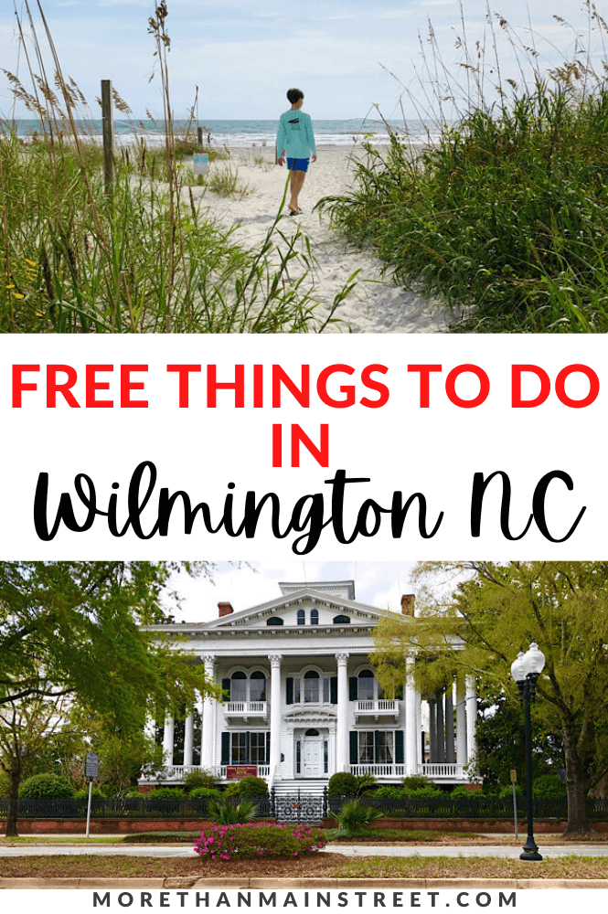 15 Best free things to do in Wilmington NC featured by top NC travel blog, More than Main Street.