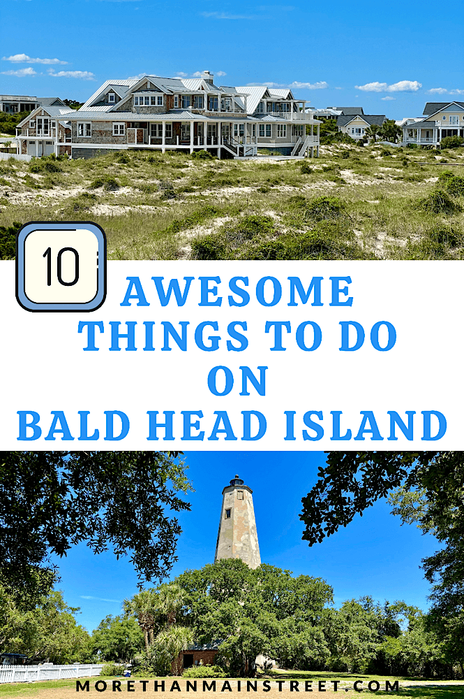 10 best things to do on Bald Head Island featured by US travel blog, More than Main Street.