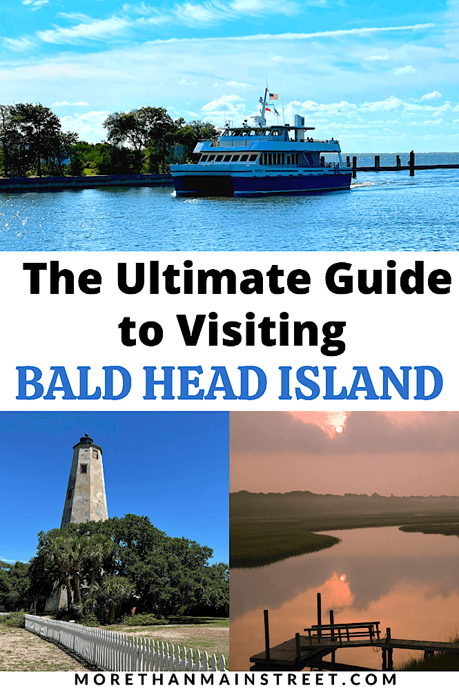 Top 10 Best Things to Do on Bald Head Island NC featured by top US travel blog, More than Main Street.