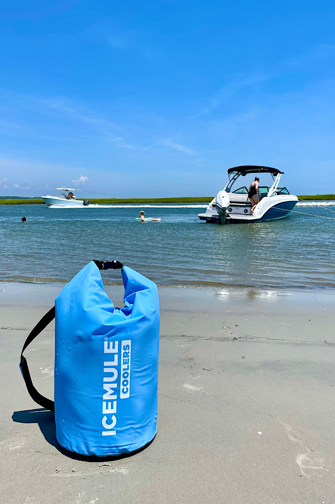 Things to take to the beach- our ice mule cooler is a favorite and a must have!