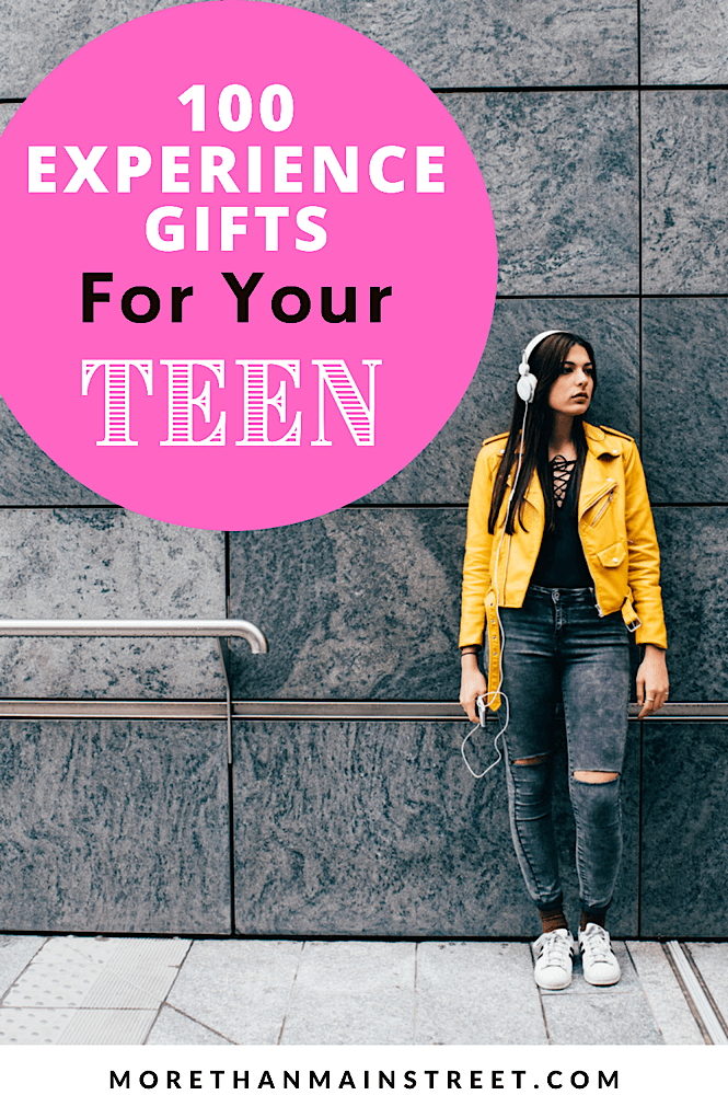 100 gift ideas for your teenager
