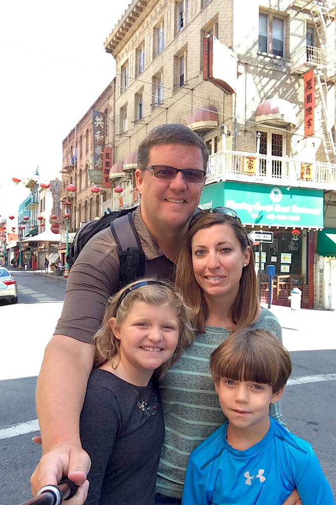 Our family loved exploring China Town in San Francisco!
