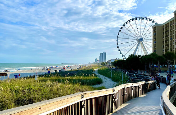 Top things to do in Myrtle Beach in winter featured by top US family travel blog, More than Main Street.