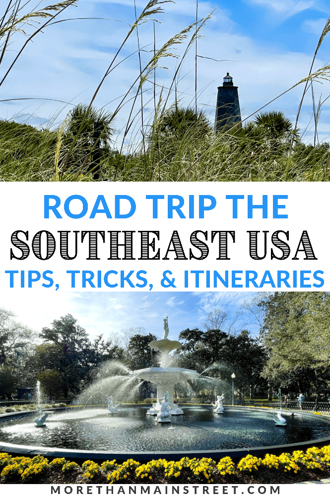 Top 10 best road trip in the south featured by top US family travel blog, More than Main Street.