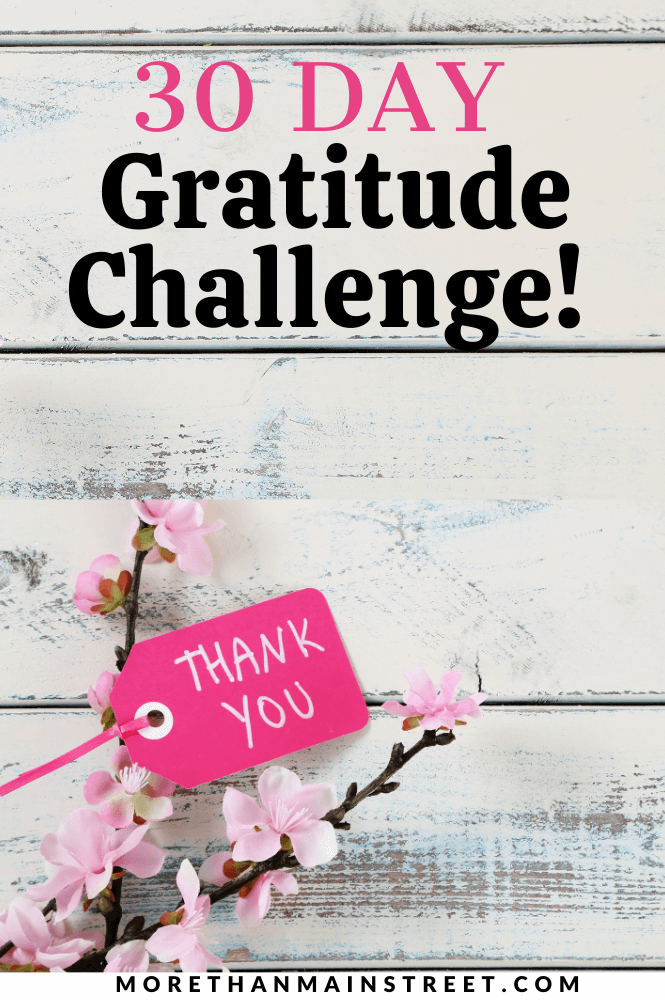 30 days of gratitude challenge- gratitude journal prompts, templates and more!